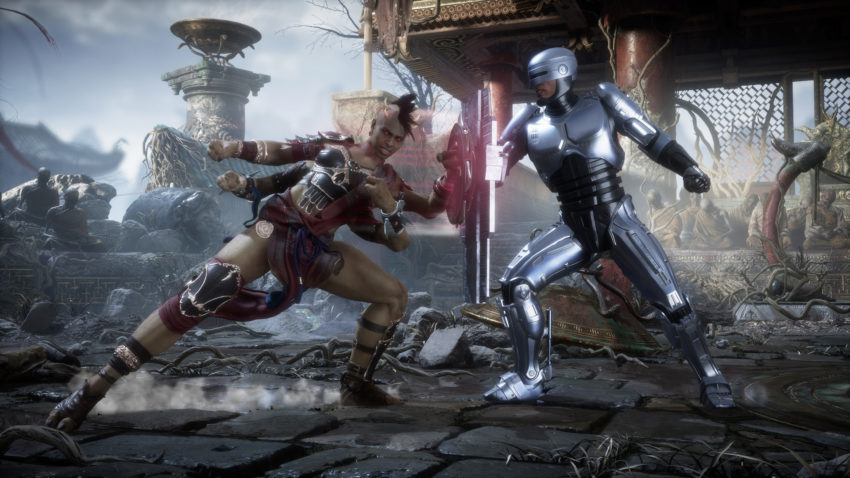 How many chapters are there in Mortal Kombat 11: Aftermath?