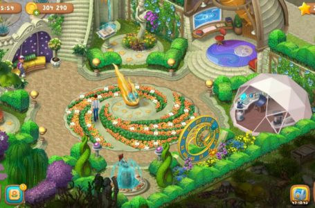 How many levels are in Gardenscapes?