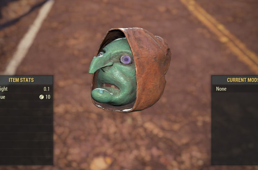 All Fasnacht Day masks and rarities in Fallout 76