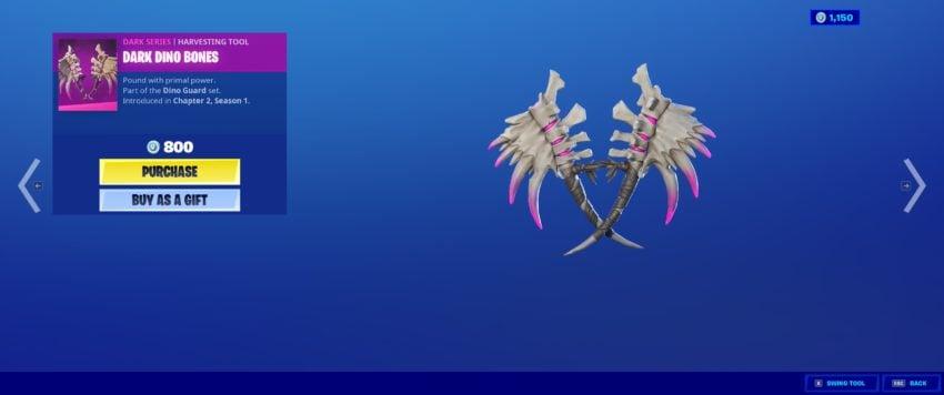 Dark Dino Bones