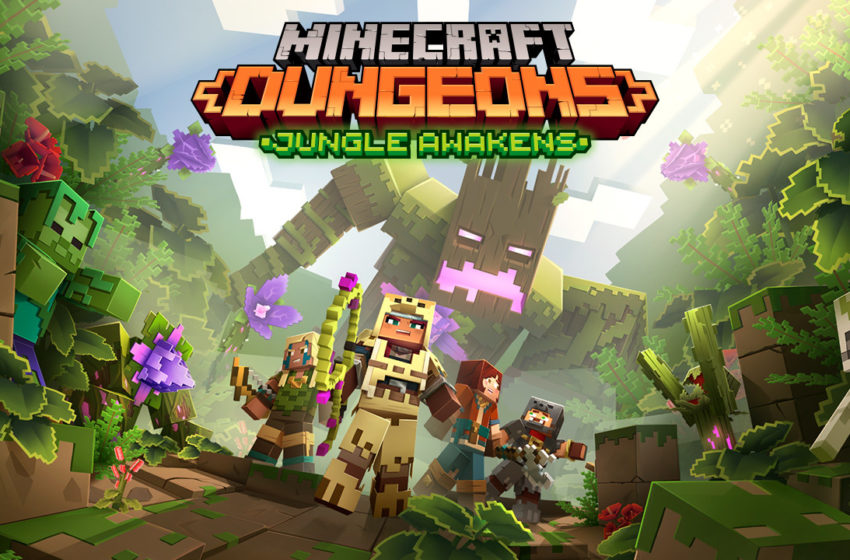 When does the Jungle Awakens DLC release for Minecraft Dungeons?