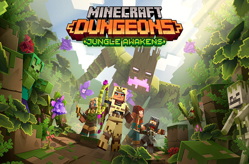 Everything we know about Minecraft Dungeon's Jungle Awakens DLC