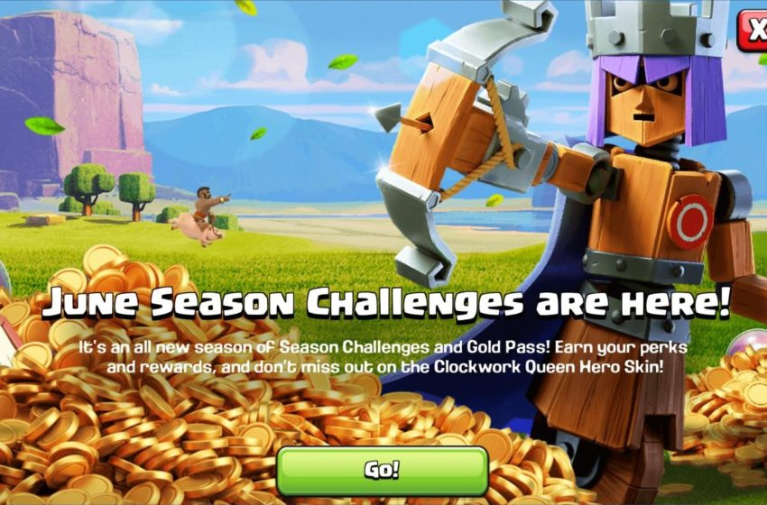 What's in the June 2020 Gold Pass in Clash of Clans?