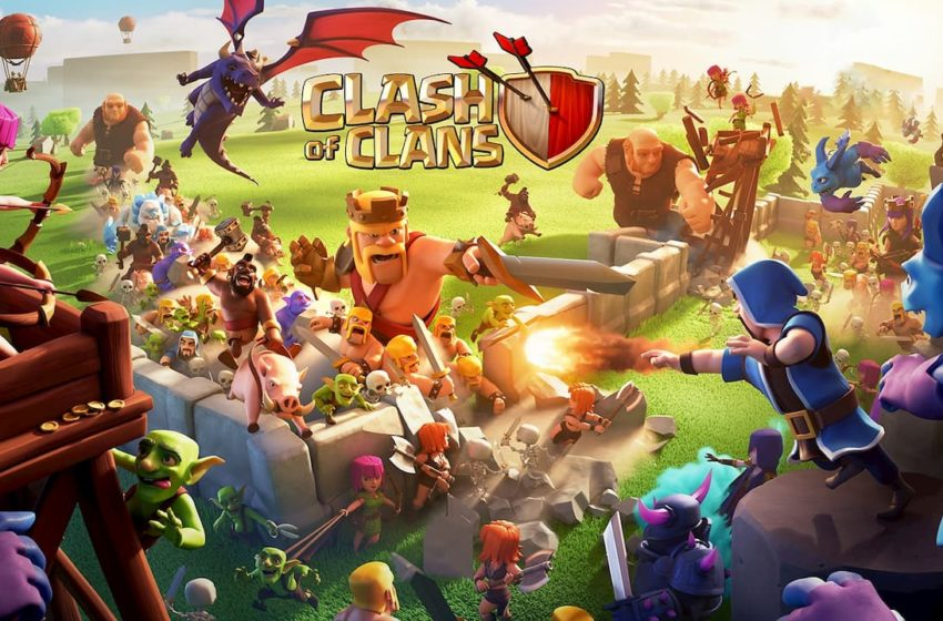 Clash of Clans Splash Screen