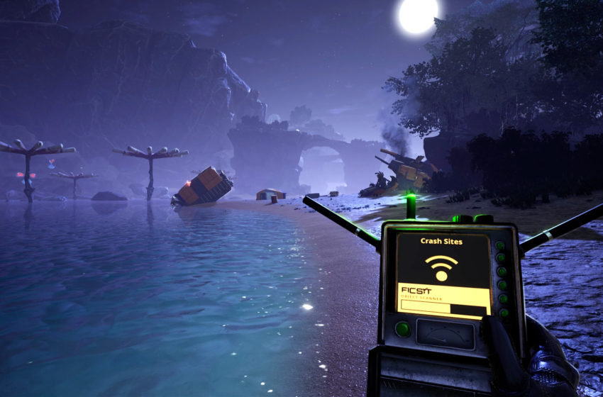 Where to find a Yellow and Purple Power Slug in Satisfactory
