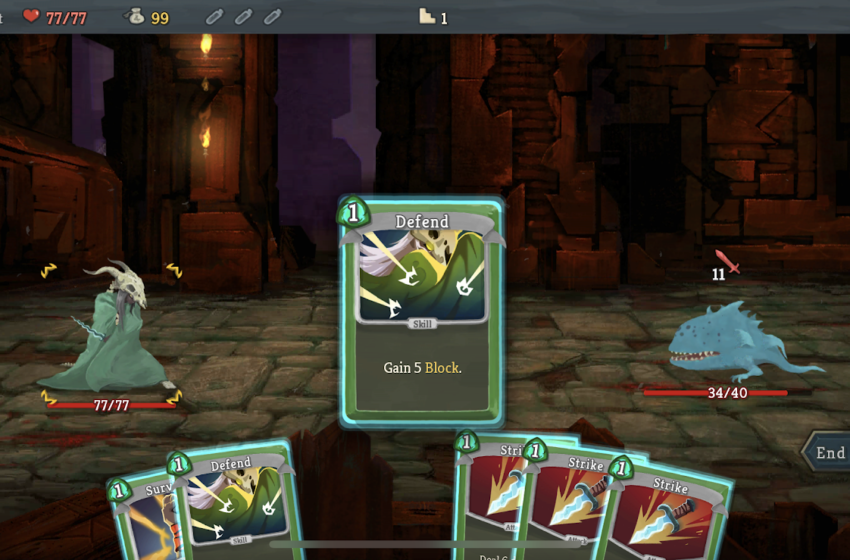 When is the iOS and Android release date for Slay the Spire?