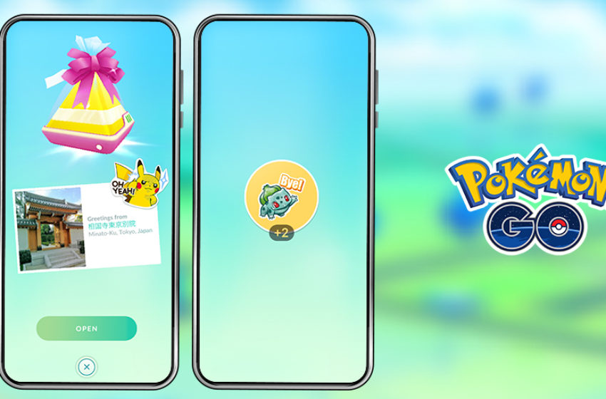 What are stickers in Pokémon Go?