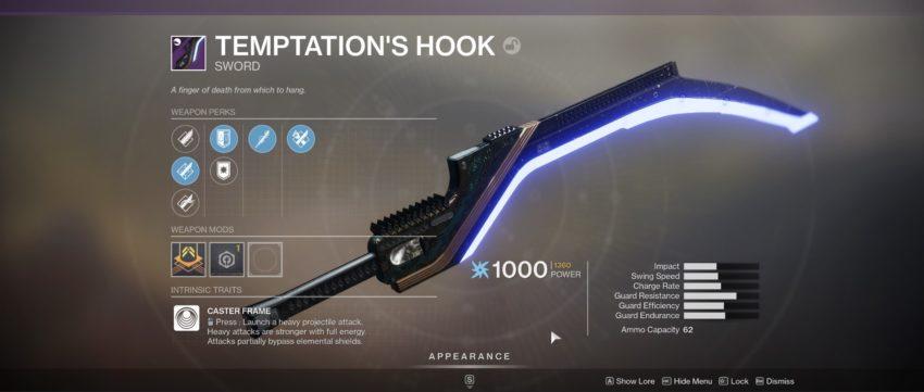 Tempation's Hook