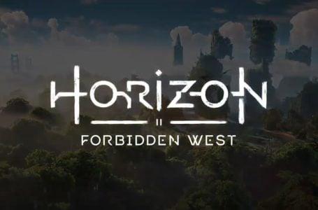 Everything we know about the Horizon Zero Dawn sequel, Horizon Forbidden West
