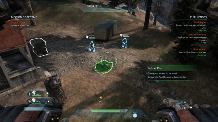 Disintegration salvage guide