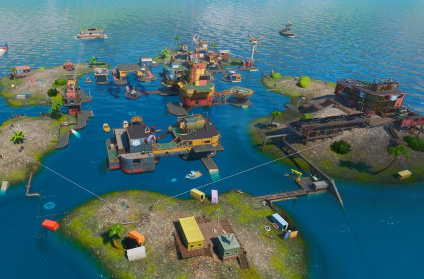 Fortnite Season 3 adds Aquaman and floods the map