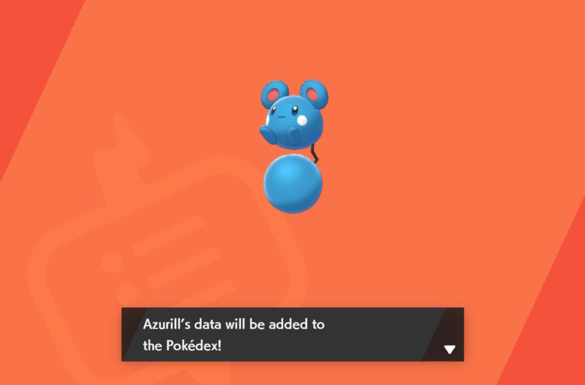 How to get Azurill in Pokémon Sword and Shield's Isle of Armor
