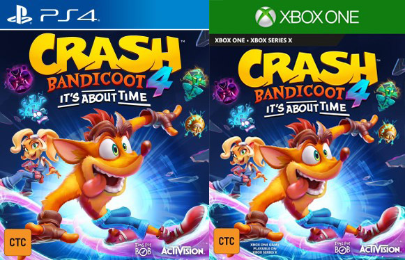 Crash Bandicoot 4: It's About Time gets box art, story and gameplay details