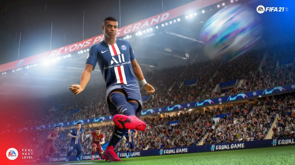 Instructions for shooting penalties in FIFA 21