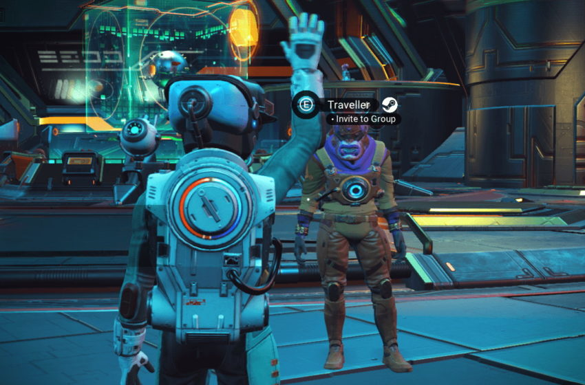 How to find your friends in No Man's Sky through cross-play