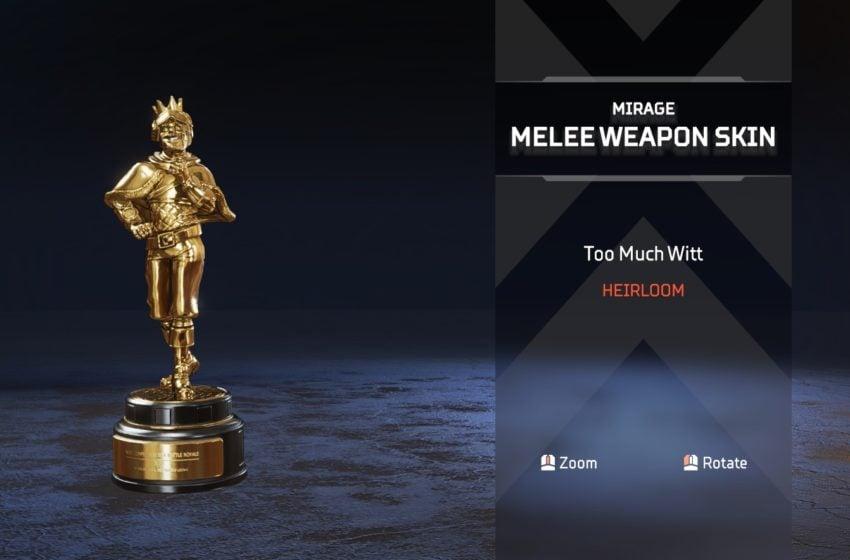 How to get Mirage's Heirloom Item in Apex Legends | Gamepur