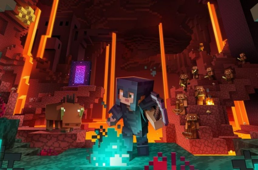 How to emote in Minecraft's Nether Update