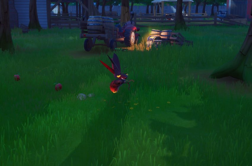 Where to find Fireflies and Firefly Jars in Fortnite Chapter 2 Season 3