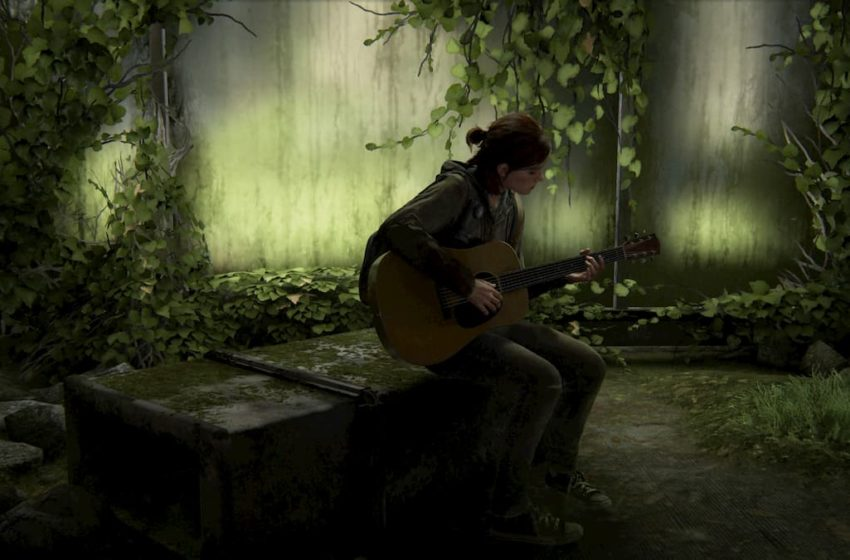 The Last of Us™ Part II ellie guitar