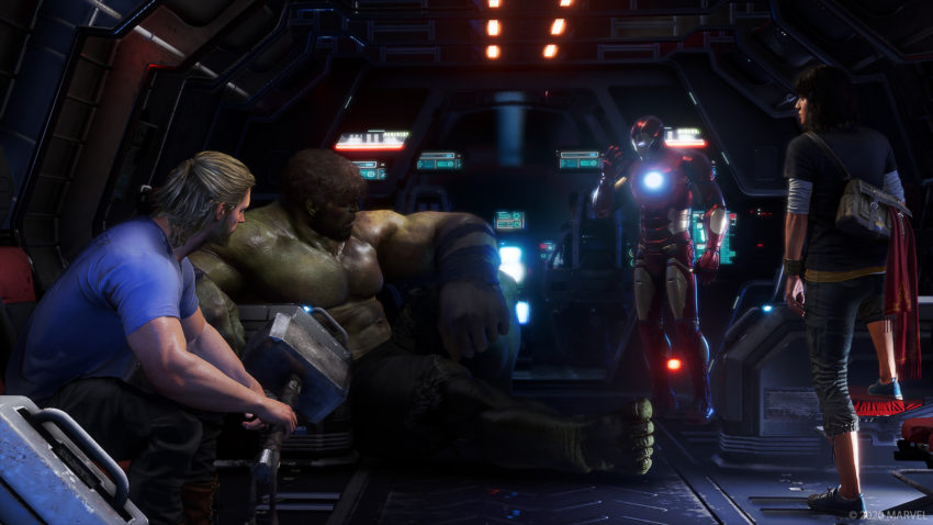 How War Zones co-op works in Marvel's Avengers
