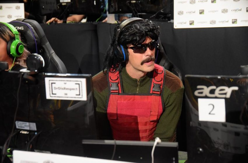 Dr Disrespect banned from Twitch, rumored to be permanent