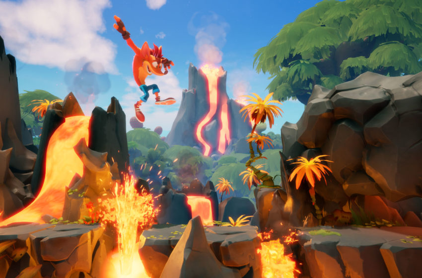 How many levels are there in Crash Bandicoot 4: It's About Time?