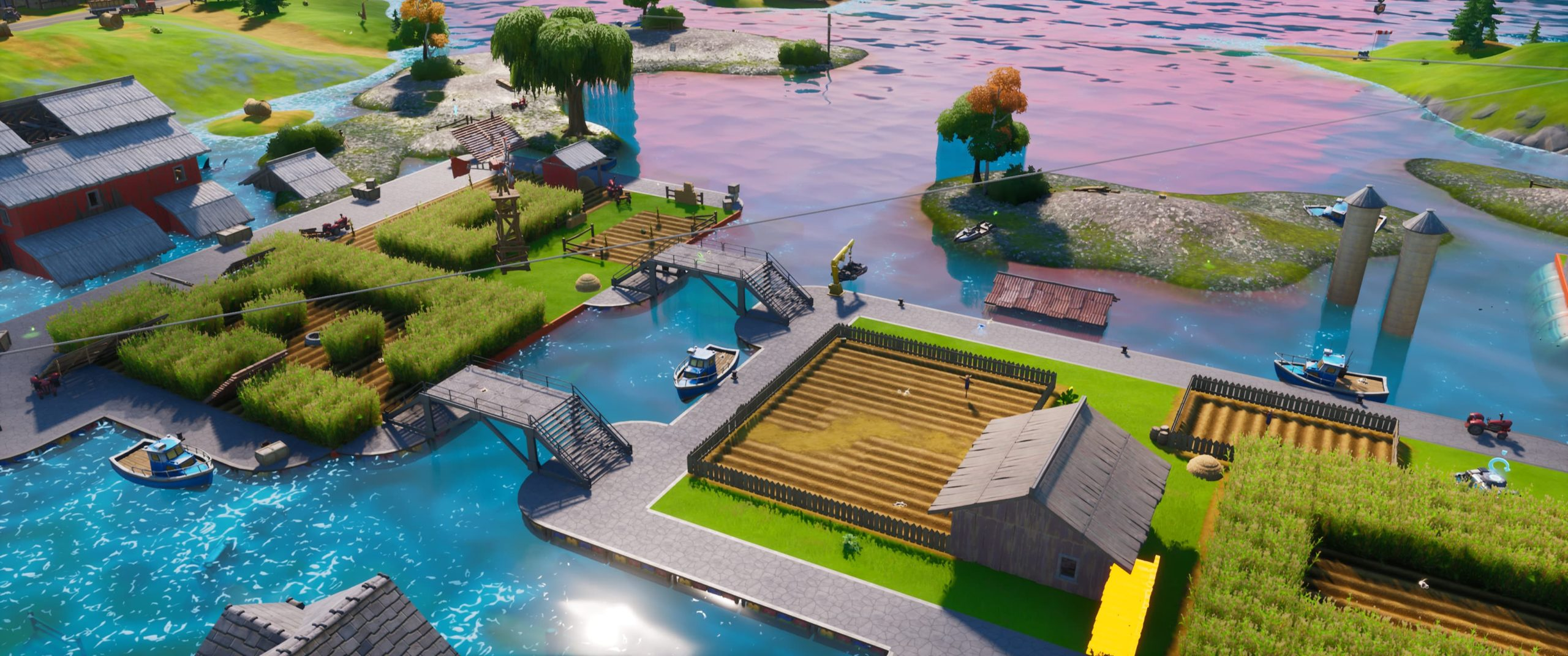 Frenzy Farm Fortnite Location How To Deal Damage From Inside A Cornfield At Frenzy Farm In Fortnite Chapter 2 Season 3 Gamepur