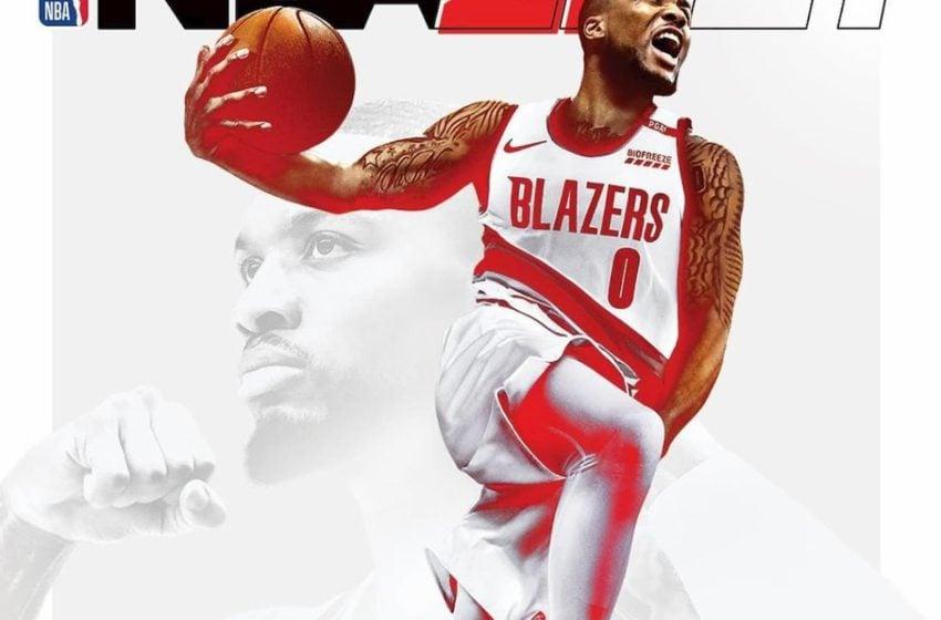 Damien Lillard named one of three NBA 2K21 cover athletes