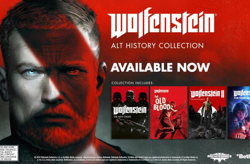 Take a trip through alternative history in the Wolfenstein Alt History Collection, available now