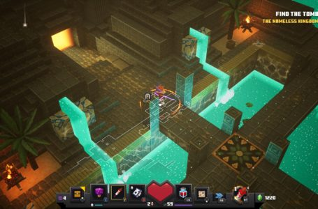 How to unlock the Desert Temple secret level Lower Temple in Minecraft Dungeons Jungle Awakens