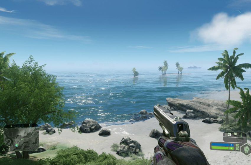 Crysis Remastered has two graphics modes on PS4 Pro