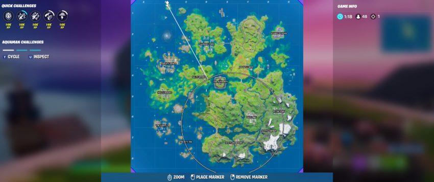 New island location