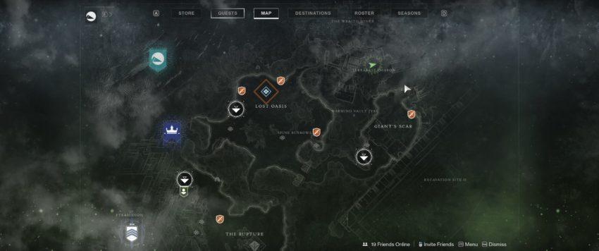 Terrabase Charon Map
