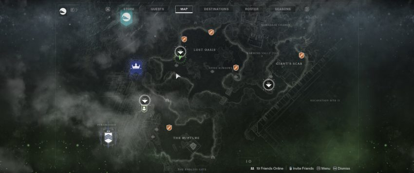 Lost Oasis Spawn Map