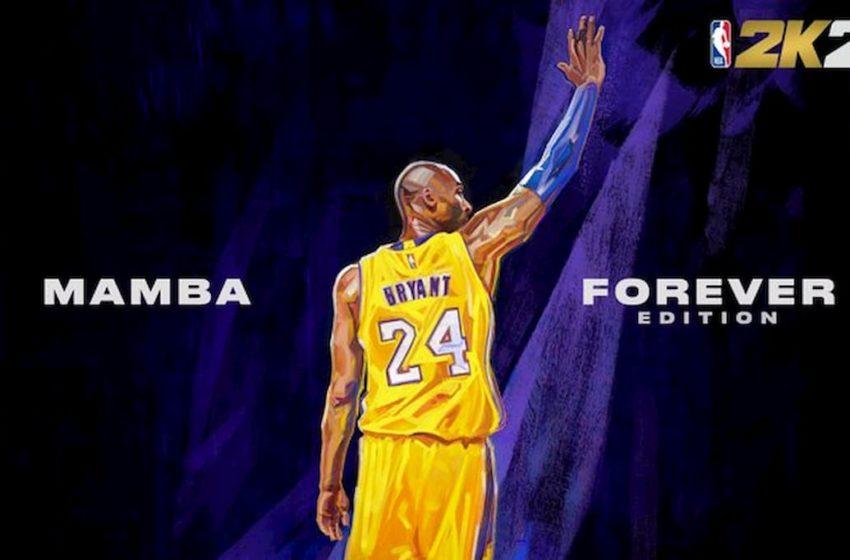 Kobe Bryant named final NBA 2K21 cover athlete