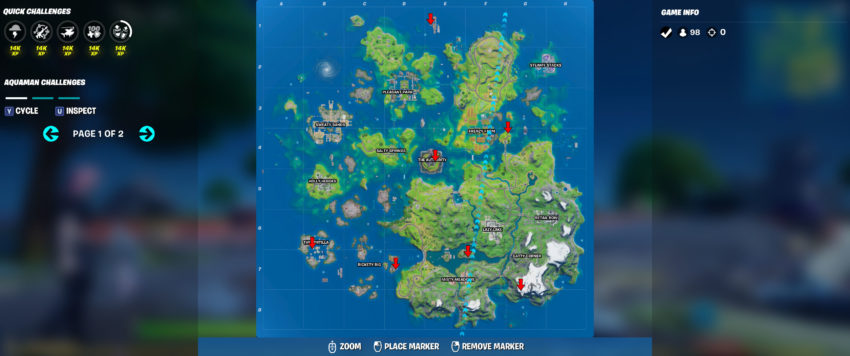 All Choppa Locations