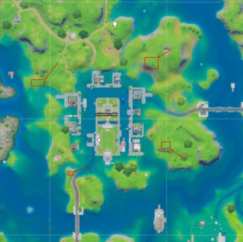 Floating Rings Map