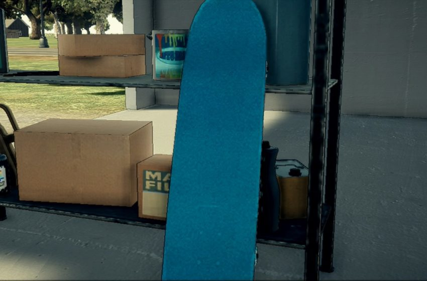 How to repair and customize your skateboard in Deadly Premonition 2