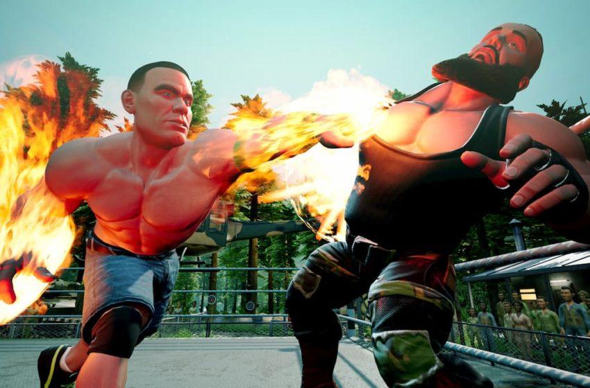 WWE 2k battlegrounds punch (1)