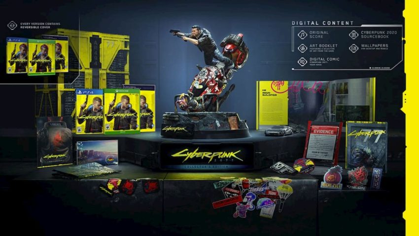 cyberpunk 2077 deluxe edition