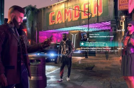 What is the release date for Watch Dogs: Legion?