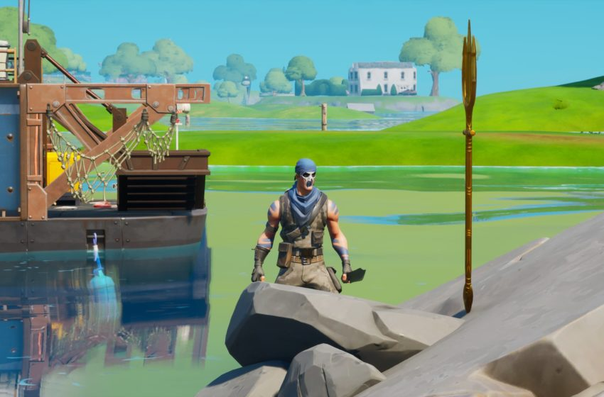 Where to claim your Trident at Coral Cove for the Aquaman skin in Fortnite Chapter 2 Season 3
