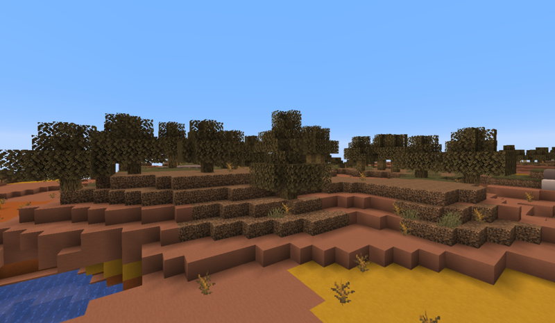Wooded Badlands Plateau