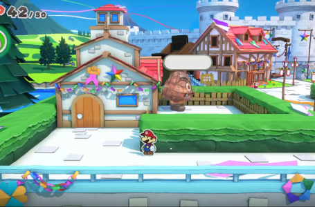 How to get into the Yard to save the Handsome Shy Guy in Toad Town – Paper Mario The Origami King