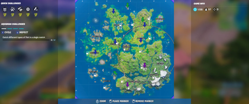 all xp coin locations in fortnite