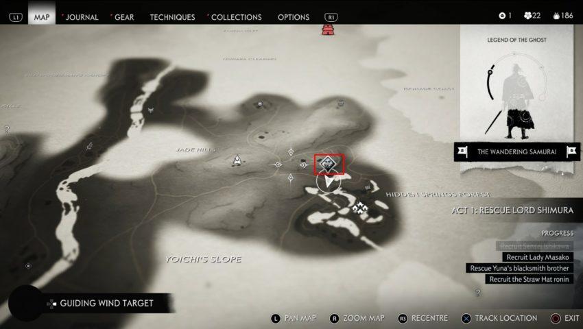 Hiyoshi Map