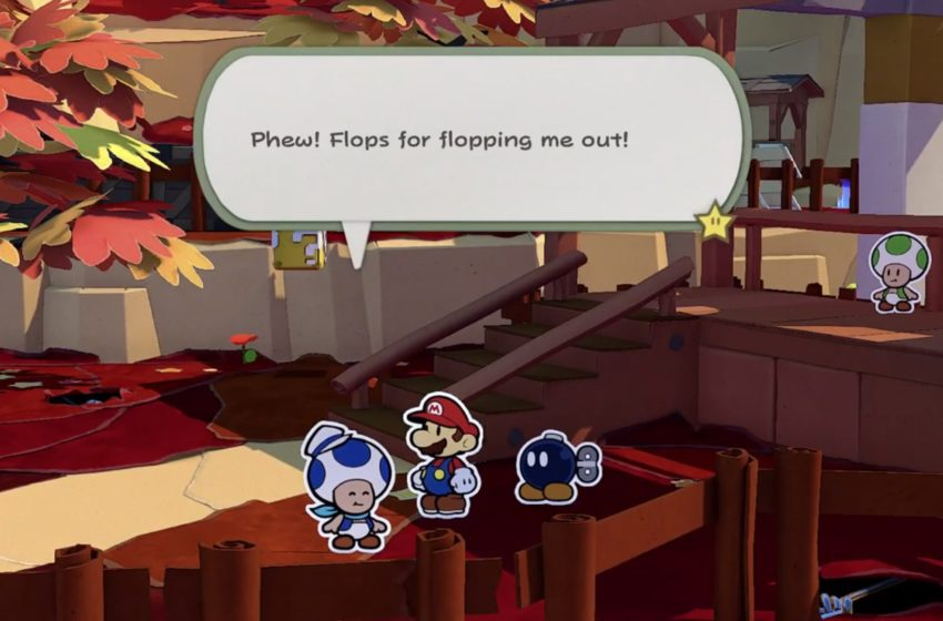 Where to find Sea Captain Toad in Paper Mario: The Origami King