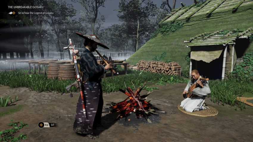 Ghost of Tsushima gosaku quest giver