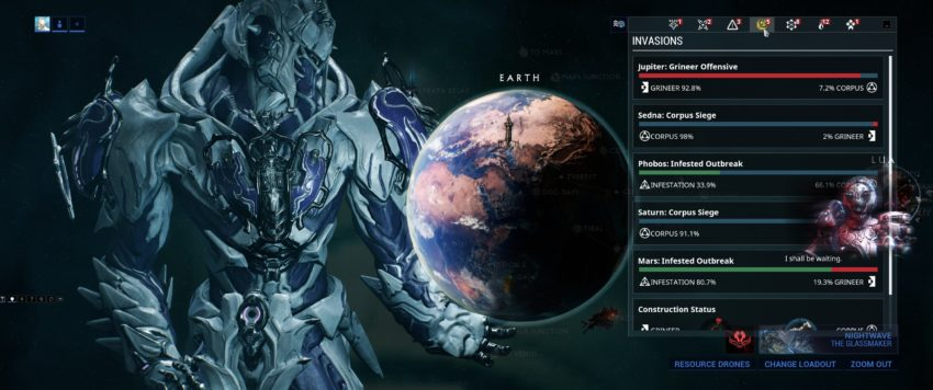 Invasion Missions Warframe