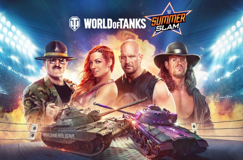 World of Tanks' WWE SummerSlam crossover event